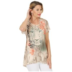 CANDY CURVES Shirt multicolor, Blumenprint