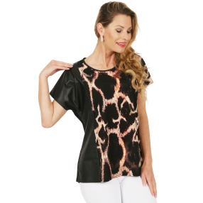 CANDY CURVES Shirt schwarz/multicolor