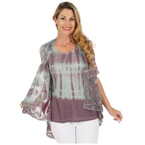 VV 2 in 1 Shirt 'Aylin' multicolor