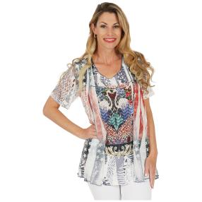 VIVACE 2 in 1 Shirt 'Dilara' multicolor