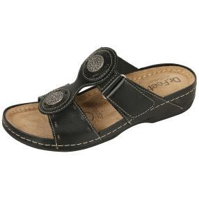 Dr. Feet Damen Lederpantolette