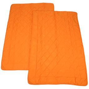 Sommereinziehdecke 2er-Set orange 135x200 cm