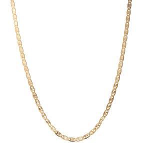 "Fantasiekette ""Valentino"" 585 Gelbgold, ca. 45cm"