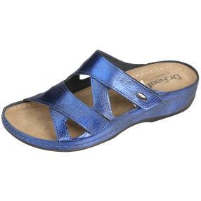 Dr. Feet Damen Leder Pantolette