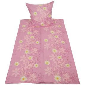 CoolSummer Bettwäsche 2-teilig, pink floral