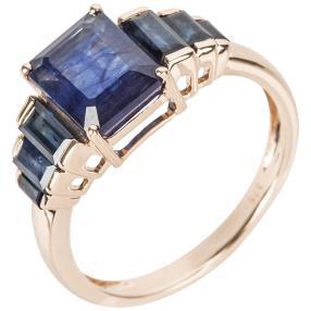 Ring 375 Rosègold Saphir behandelt