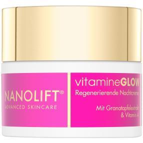 Nanolift vitamineGLOW Nachtcreme 50 ml