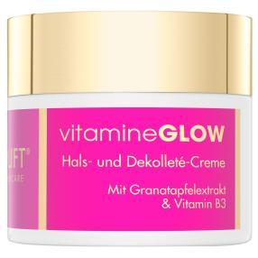 Nanolift vitaminGLOW Hals- und Dekolleté Creme