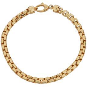 Venezianerarmband 585 Gelbgold