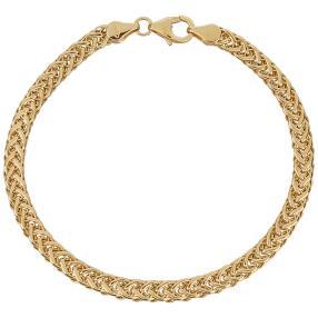 Spiga Armband 585 Gelbgold