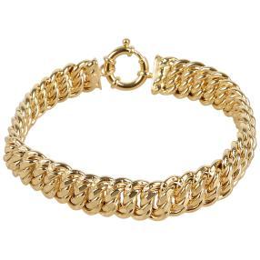 Fantasie-Armband 585 Gelbgold