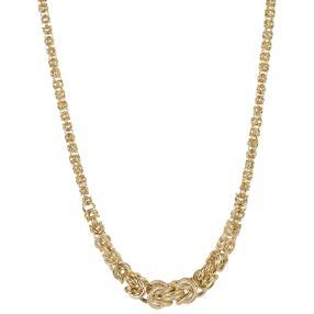 Königskette 585 Gelbgold, mit Verlauf