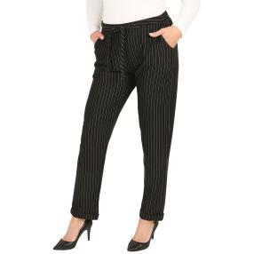 BLUE SEVEN Damen-Jogg-Pant schwarz/weiß