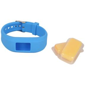 CleverWounder Anti-Mückenband Set, blau