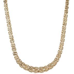 Königskette 750 Gelbgold