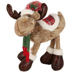 Weihnachts-Elche stehend 40cm