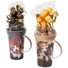 Kaffeebecher Katzen 2er Set
