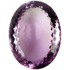 Amethyst pink oval facettiert min. 320 ct.