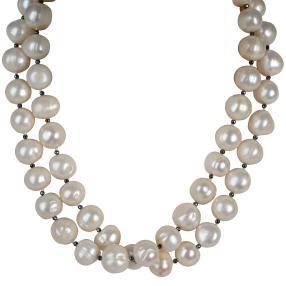 Collier Perle+Hämatit
