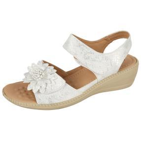 Cushion-walk Damen Sandalen weiß