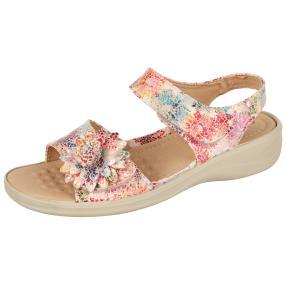 Cushion-walk Damen Sandalen, beige, multicolor