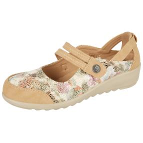 Cushion-walk Damen Sandalen multicolor beige