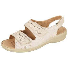 Cushion-walk Damen Sandalen beige