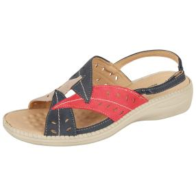 Cushion-walk Damen Sandalen multicolor