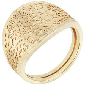 "Ring ""Flower"" 585 Gelbgold"
