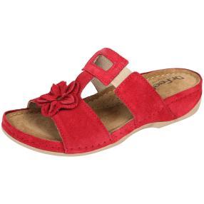 Dr. Feet Damen- Lederpantoletten
