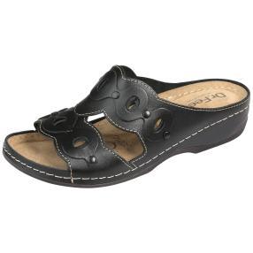 Dr. Feet Lederpantoletten