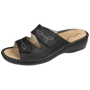 Dr. Feet Lederpantoletten auswechselbar