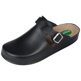 Dr. Feet Lederpantolette Gel