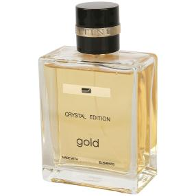JACQUES BATTINI CRYSTAL EDITION gold Man EdT 100ml