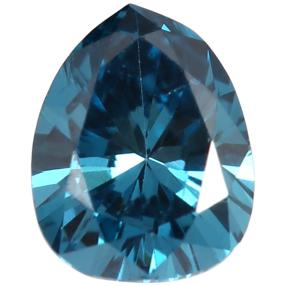 Diamant Tropfen Fancy Blue min. 0,20 ct.