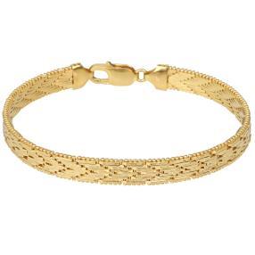 Armband 925 vergoldet, ca. 20cm