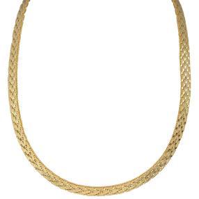 Collier 925 vergoldet, ca. 52cm