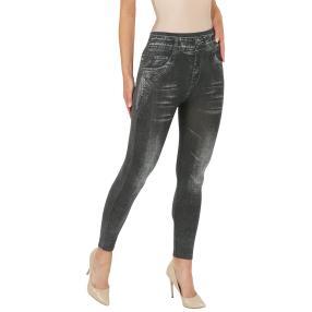 FASHION NEWS  Seamless-Jeansleggings schwarz, weiß
