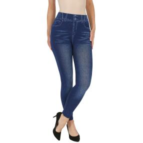 FASHION NEWS  Seamless-Jeansleggins, jeansblau