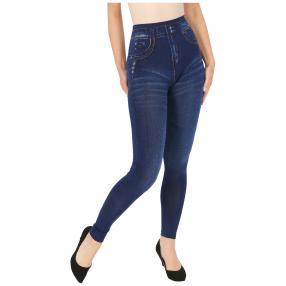 FASHION NEWS  Seamless-Jeansleggings blau