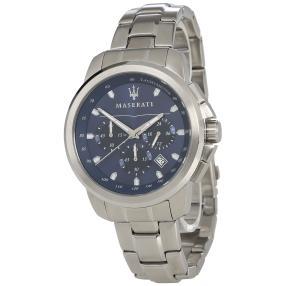 """Maserati Herren Chronograph """"Successo"""" blau"""