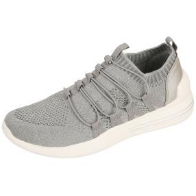 Damen Sneaker, grau, weiß