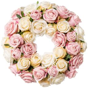 Rosenkranz rosa 35cm real-touch