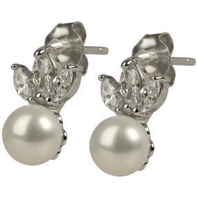 Ohrhänger 925 St. Silber Süßwasserzuchtperle