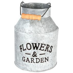 Blumenkübel Lifetime garden weiß Ø15