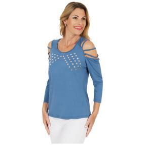 mocca by Jutta Leibfried Shirt blau