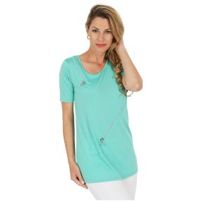 mocca by Jutta Leibfried Shirt mint, Kurzarm