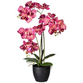 Orchidee real-touch, 65 cm, lila