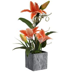 Lilienarrangement orange