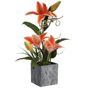 Lilienarrangement orange
